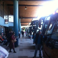 Photo taken at Terminal de Buses Collao by Ronald Abelardo M. on 5/13/2012