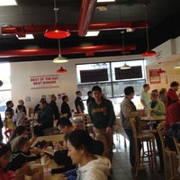 Photo taken at Five Guys by Brian G. on 2/25/2012