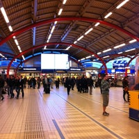 Photo taken at Station Utrecht Centraal by LHNMeaning on 5/12/2012