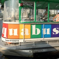 Photo taken at Aquabus Granville Island Dock by Felice L. on 7/8/2012