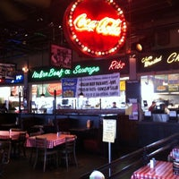 Photo taken at Portillo's by Dawn D. on 3/30/2012