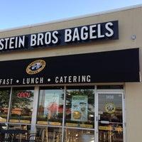 Photo taken at Einstein Bros Bagels by Indy D. on 6/15/2012