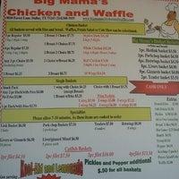 Photo taken at Big Mamas Chicken & Waffles by Jason C. on 8/19/2012