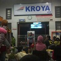 Photo taken at Stasiun Kroya by Faesal A. on 9/2/2012