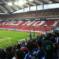 Photo taken at Seoul Worldcup Stadium by 찬영 박. on 8/18/2012