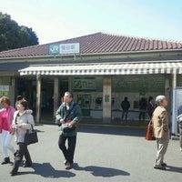 Photo taken at Uguisudani Station by 秋雄 玉. on 4/8/2012
