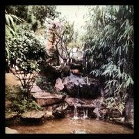 Photo taken at Jardim Oriental by Guilherme M. on 7/23/2012