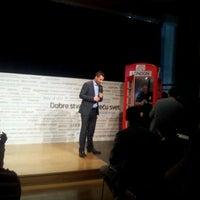 Photo taken at Telenor Serbia Intro Center by Vladimir T. on 6/5/2012