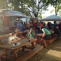 Photo taken at Fort Worth Food Park by Robert M. on 8/19/2012