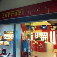 Photo taken at Ferrari Store by airservicepadova.it  Prenota e risparmia on-line A. on 2/16/2012