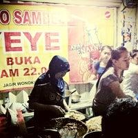 Photo taken at Sego Sambel Mak Yeye by Andrie W. on 9/3/2012