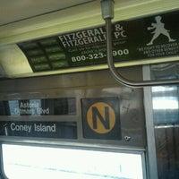 Photo taken at MTA Subway - N Train by Daniel S. on 4/13/2012