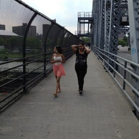 Photo taken at 145th Street Bridge by Daniel G. on 6/10/2012