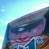Photo taken at Megabus stop by Ethan L. on 7/9/2012