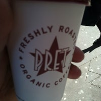 Photo taken at Pret A Manger by Perlorian B. on 3/19/2012