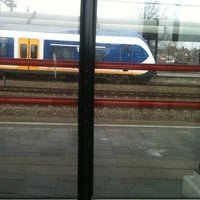 Photo taken at Spoor 5 by Sanne on 4/5/2012