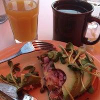 Photo taken at Café Gratitude by Bree W. on 4/20/2012