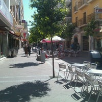 Photo taken at Calle Ancha by Antonio C. on 3/21/2012