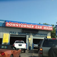 Photo taken at Downtowner Car Wash by Chris H. on 6/27/2012