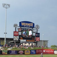 Photo taken at Werner Park by Amy E. on 7/14/2012
