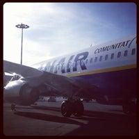 """Photo taken at Aeroporto di Roma Ciampino """"Giovan Battista Pastine"""" (CIA) by Annalisa T. on 4/25/2012"""