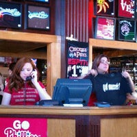 Photo taken at Chickie's & Pete's by Wanamaker E. on 4/13/2012