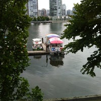Photo taken at Granville Island Hotel by Lisa C. on 7/24/2012