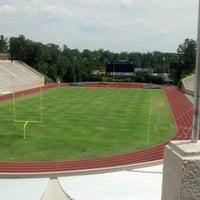 Photo taken at Brooks Field at Wallace Wade Stadium by John G. on 6/10/2012