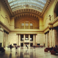 Photo taken at Chicago Union Station by Stepan K. on 8/12/2012