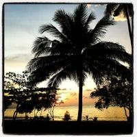 Photo taken at Bailan Beach by Midori S. on 3/10/2012