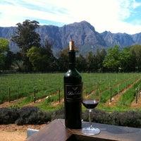 Photo taken at Thelema Wine Farm by Thomas G. on 9/14/2011