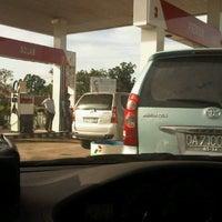 Photo taken at SPBU 64-73501 by Iqbal C. on 3/1/2012