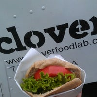 Photo taken at Clover Food Truck by Becki W. on 9/5/2012