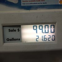 Photo taken at Shell by Bryce R. on 3/20/2012