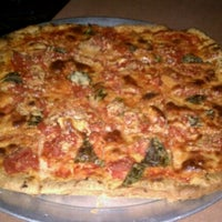 Photo taken at Leaning Tower of Pizza by Hattycakes H. on 2/18/2011