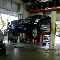 Photo taken at Lee Auto Services by aishahrul a. on 12/22/2011
