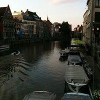 Photo taken at Het Waterhuis aan de Bierkant by Alejo G. on 6/15/2011