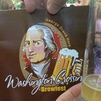 Photo taken at Washington's Crossing Brewfest 2013 by BucksHappening on 5/12/2012