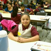 Photo taken at Maria L. Varisco Rogers Charter School by Rachel P. on 9/6/2011