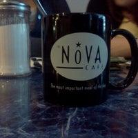 Photo taken at Nova Cafe by Jacob F. on 9/27/2011