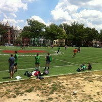 Photo taken at Tubman Elementary School Soccer Field by Eric G. on 6/23/2012