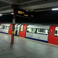 Photo taken at Kilburn London Underground Station by Laura K. on 11/13/2011