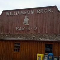 Photo taken at Williamson Bros Bar-B-Q by Zac R. on 9/16/2011