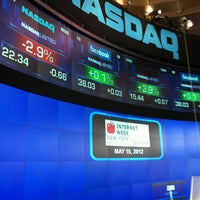 Photo taken at Nasdaq Marketsite by John W. on 5/18/2012
