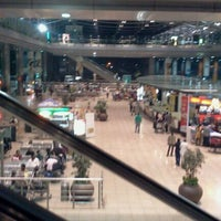 Photo taken at Rajiv Gandhi International Airport (HYD) by Abhilash A. on 11/20/2011