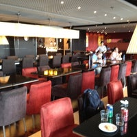 Photo taken at Plaza Premium Lounge (West Hall) by Lazy D. on 5/14/2012