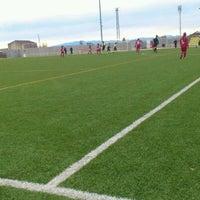 Photo taken at Camp De Futbol De St. Pere Pescador by Jaume S. on 1/29/2012