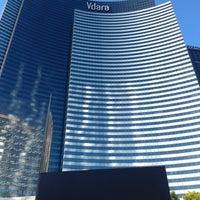 Photo taken at Vdara Hotel & Spa by Rebekah B. on 8/24/2012