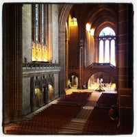 Photo taken at Liverpool Cathedral by David B. on 5/5/2012