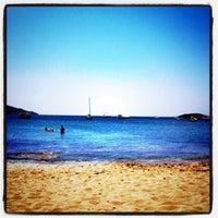 Photo taken at Porto Koundouros Beach by Andy K. on 8/6/2011
